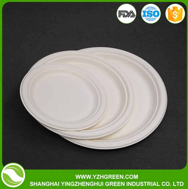 Different Shapes Customized Heated Dinner Plates For Restaurants