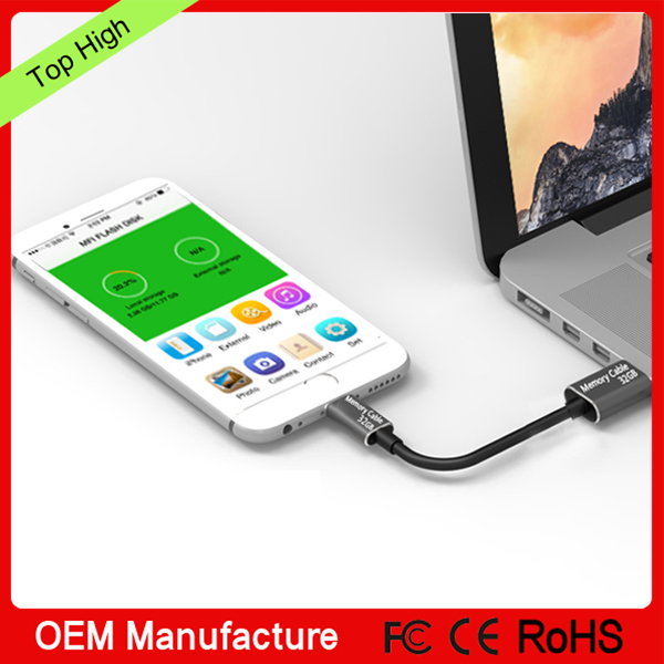 for iphone6s memory cable 3 in 1 with card reader function