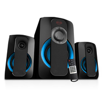 High Quality Wired Powered 2.1CH Professional Audio Home Speaker With USB SD Bluetooth