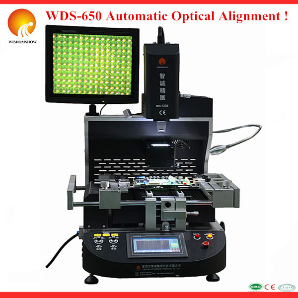 High Auto bga rework machine for xbox playstation 3/4 motherboard , WDS-650 ic remove repair machine