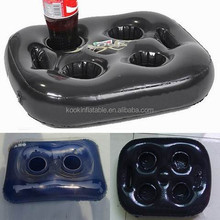 inflatable water pool drink holder floats beer cooler in swim