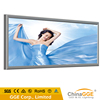 Outdoor backlit led poster frame snap aluminum frame light box with big size and sceen