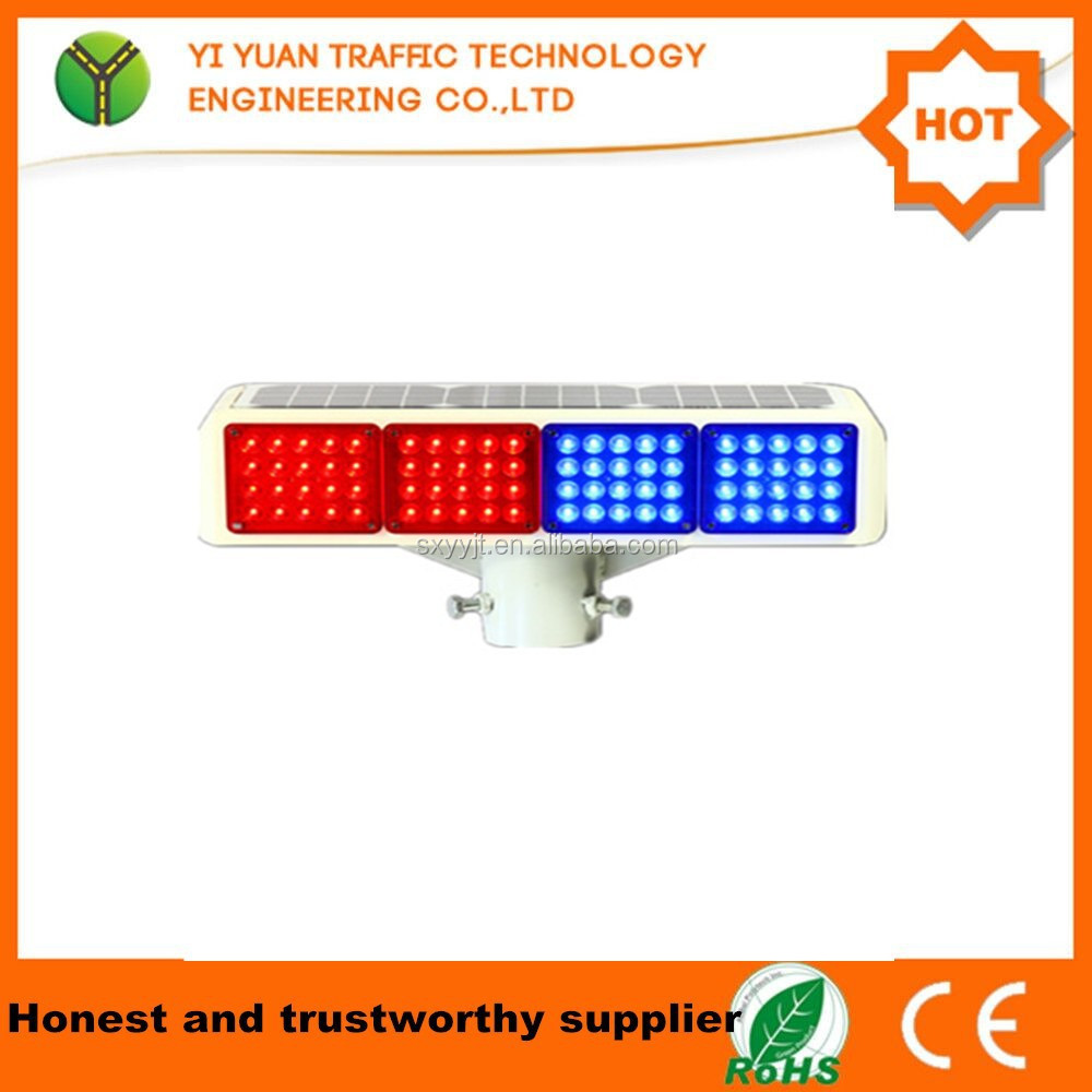 road safety solar flashing led electronic flares