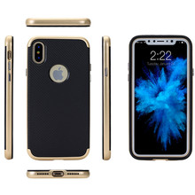Carbon Fiber TPU PC Hybrid Case For Iphone 8,For Iphone 8 Case