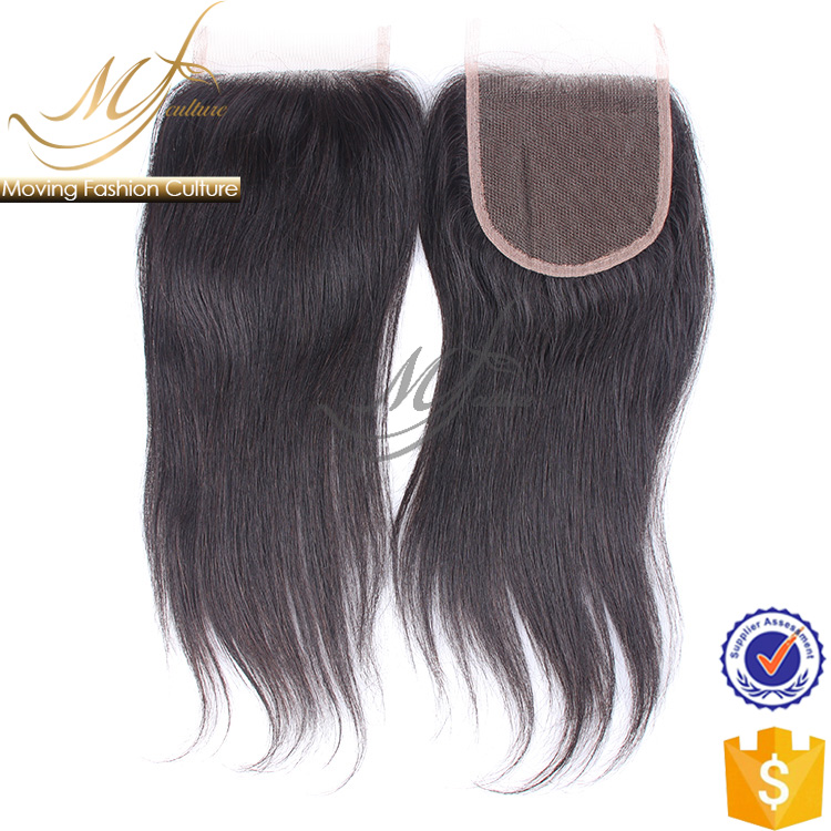 8-20 inch high quality hot sale MF Culture straight human hair closure