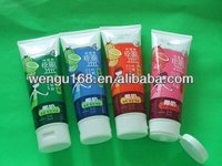 Dia 50mm cream tube for cosmetics packaging plastic tube flip top cap