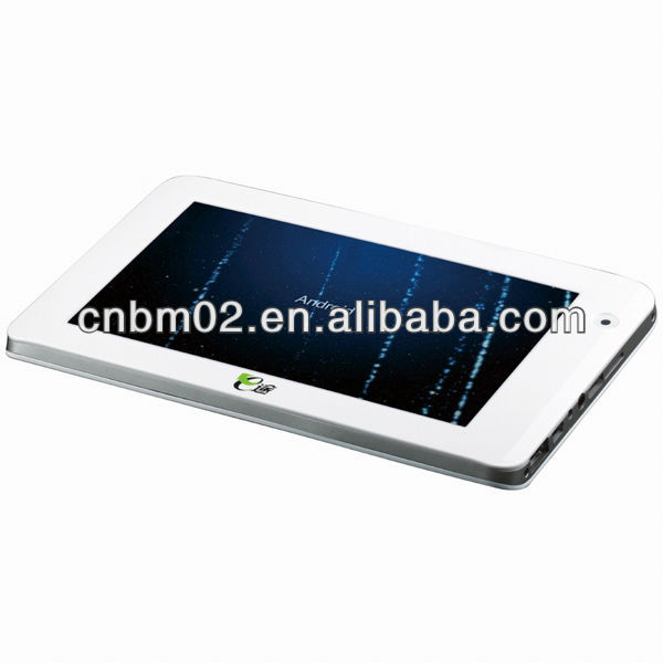 New 7 Android Tablet GPS, Built-in 8G, with 3G, Wifi, Bluetooth, Analog TV