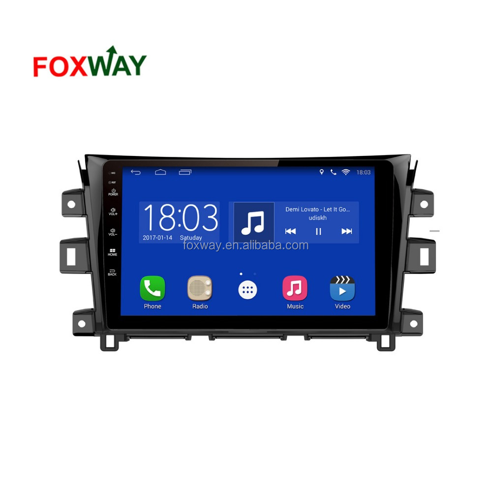 NVR101 All-in-one safe driving solution android car radio system for Nissan Navara 2017