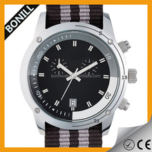 Relogio masculino military sports boys waterproof watches with nylon strap