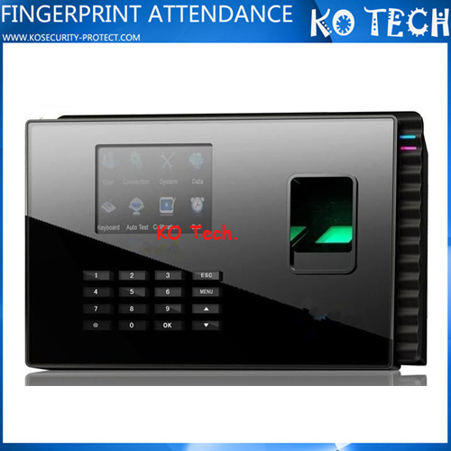 KO-M9 Bimetric and RFID Card Reader Battery Operated Time Clocks