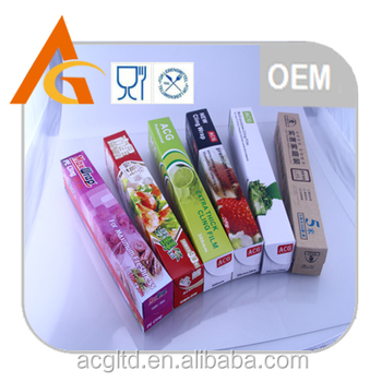 pe cling film por food packaging