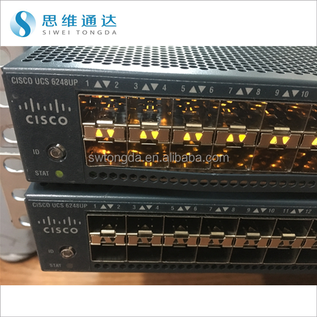 Cisco USED UCS-FI-6248UP Fabric Interconnect Switch 32 Port 10GbE 10GE Gigabit Switch
