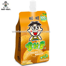Want Want Orange Juice with Coconut Beverage Pocket Drink