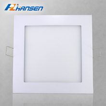 Energy saving factory price ultra slim 7 sizes IP40 led panel lights