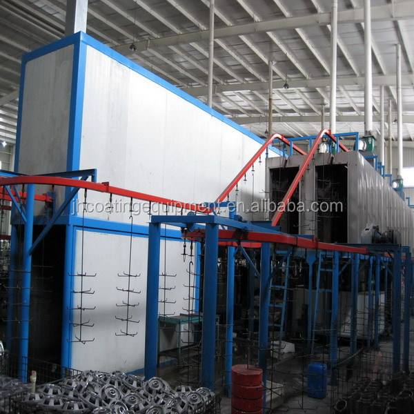 Industrial Metal Surface Finishing Liquid Paint Painting Line