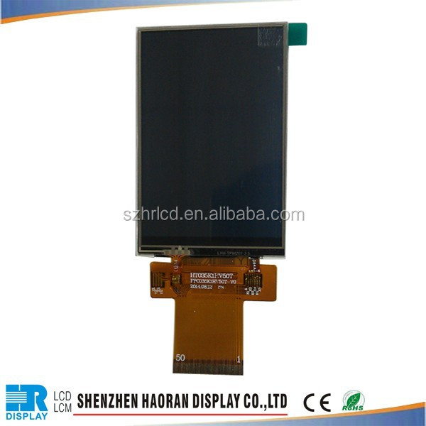3.5inch 320x480 Pixel Resistive IPS Touch LCD For Home Use