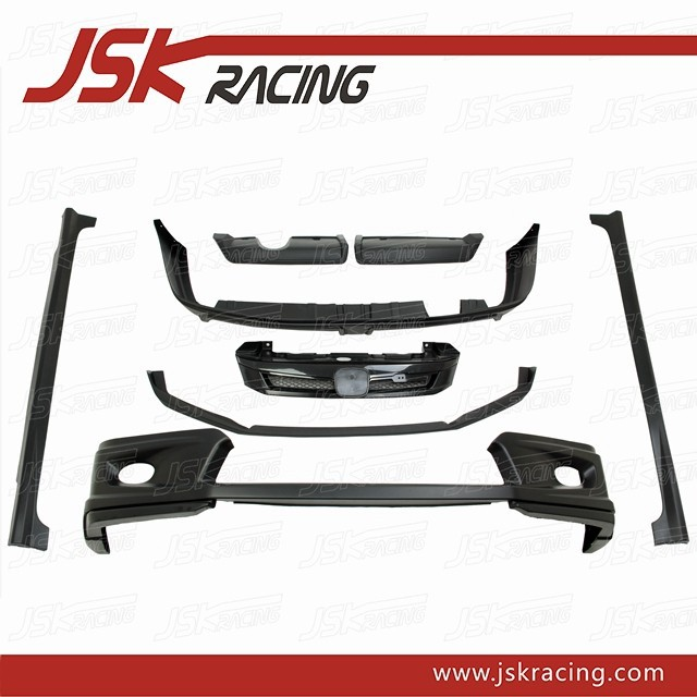 MUGEN STYLE PP BODY KIT FOR 2011-2014 HONDA CIVIC FB (JSK122021)