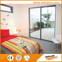 Free design hot sale waterproof aluminium cheap sliding window with CE certification