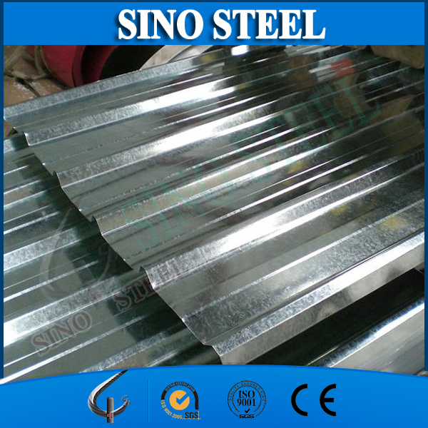 Lowest price SGCC galvanzied corrugated iron sheet metal roofing/0.17mm galvanized corrugated iron sheet sgs certificate
