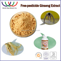 free sample ! cosmetic ingredients 100% pure anti-freckle korean red ginseng root p.e.