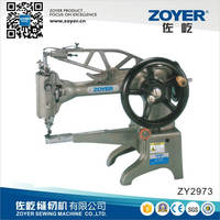 ZY2973 Zoyer Single Needle Cylinder Bed Shoes Repairing Industrial Sewing Machine
