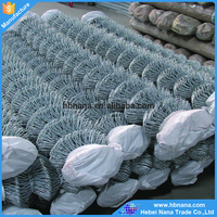 hot sale galvanized used chain link fence price / High Quality Zoo mesh fence