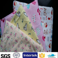 textile printing brushed cotton fabric baby flannel fabric