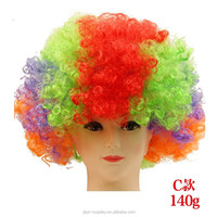 Crazy Fans wig,High quality,wig anime halloween colorful wig