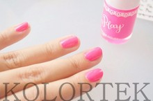 Fluorescent Pink Pigment for Gel Polish, Candy Concentrated Colors