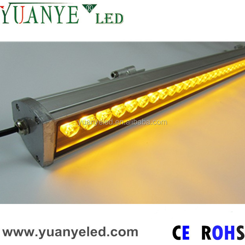 China outdoor linear led lights IP65 dmx rgb led wall washer