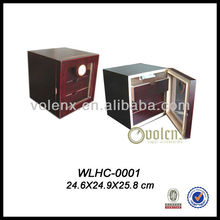 Factory wholesale Cigars Storage Display Small Wooden Box Cabinet