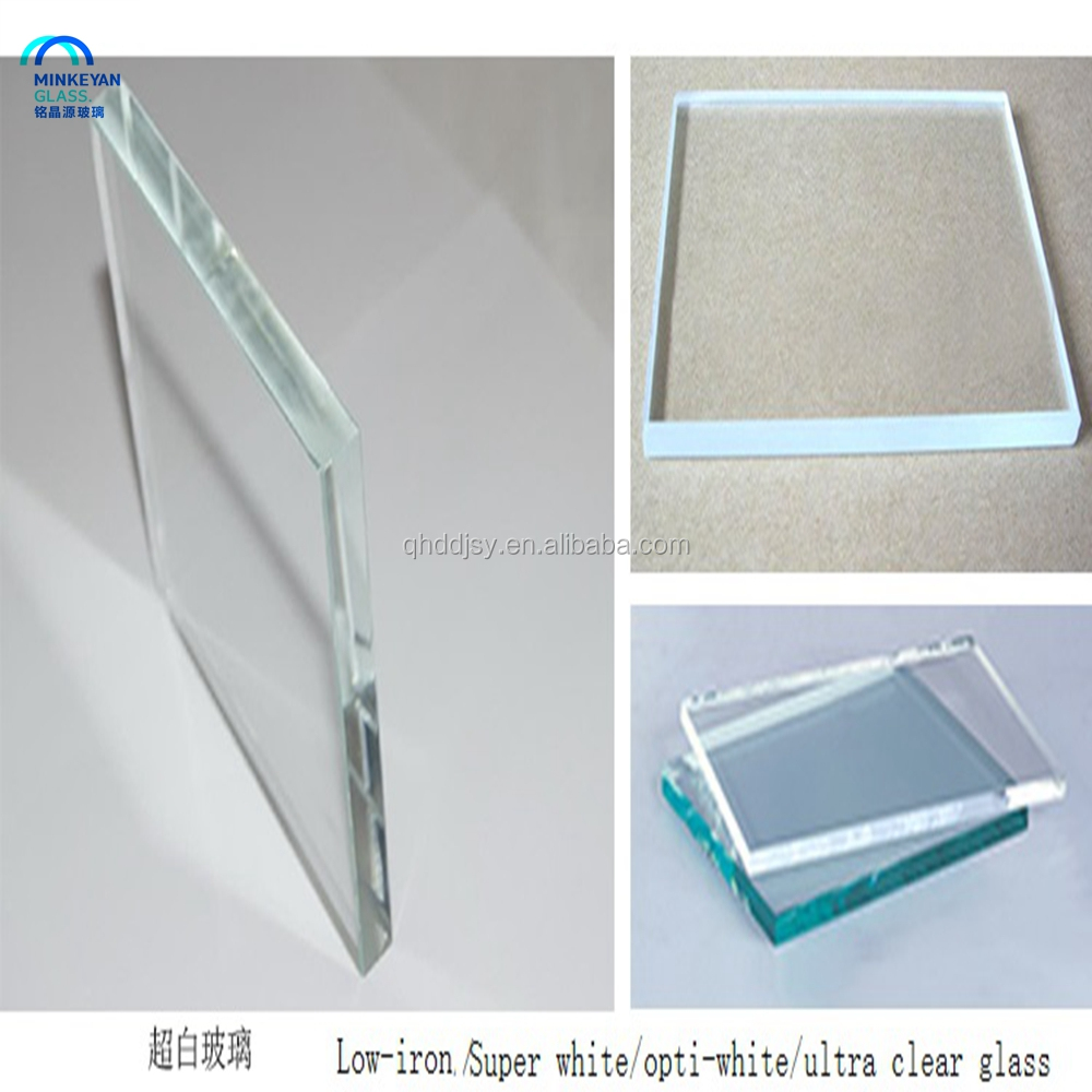 ultra clear opti-white super white tempered glass price / Tempered glass door / tempered sheet price