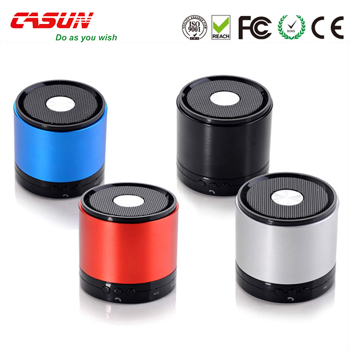 2017 new private model round mini multifunction Outdoor Bluetooth Speakers