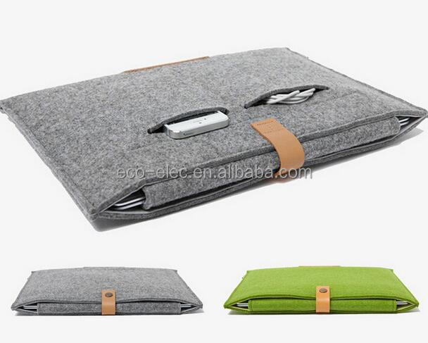 "Hot Felt Protective Bag Laptop Sleeve Case For Macbook Laptop Air /Pro / Retina, 11.6"",13.3""15.4"""