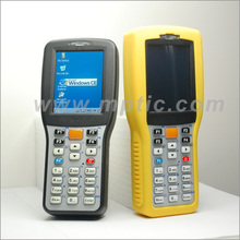 Touch screen handheld pda barcode scanner 1000W window ce mobile barcode scanner with Wifi connection