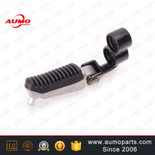 Oem spare part vendor left front footrest components for qianjiang parts
