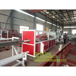 High precise extruded PE COD pipe production line/threading pipe machine with price