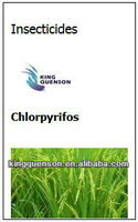 insecticides systemic of chlorpyrifos 480ec ,98% tc recommed supplier