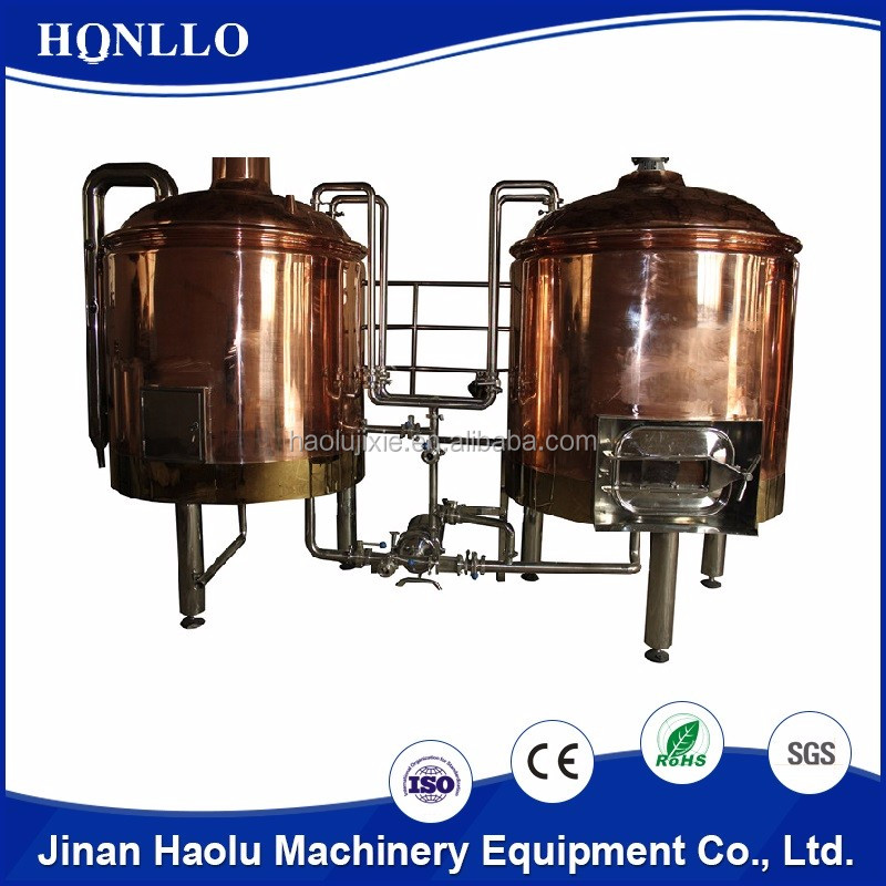 Stainless steel beer fermentation molasses alcohol