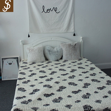 S&J Latest Blanket Quilt High Quality Bed Sheet Designs For The Living Room