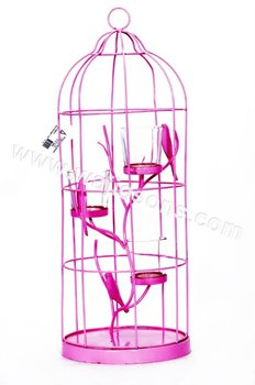 Decorative bird cages for weddings, Metal Color Bird Cage Ideal for Home & Garden Decoration