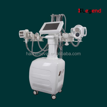 Newest design V10 Vacuum roller RF cavitation BIO zeronal laser 7 in 1 body sculpting beauty mahcine