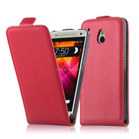 Premium Flip Magnetic Phone Case Cover For HTC M4 HTC One Mini