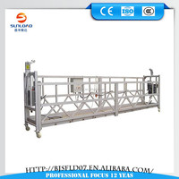 construction swing stage equipment/electric powered gondola/mobile scaffolding platform