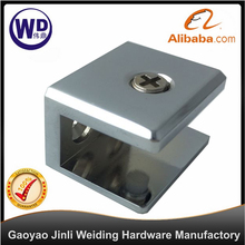 Zinc Alloy Square Glass Clamp,Fixed Glass Clip, shelf bracket GC-3701-M