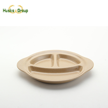 Durable Custom Natural Material Smile Baby Plate