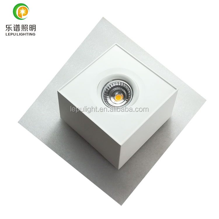 2x9w 18w Newest GYRO Surface Square Rectangle LED downlight
