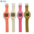 Wholesale electronic digital watch with different color designs