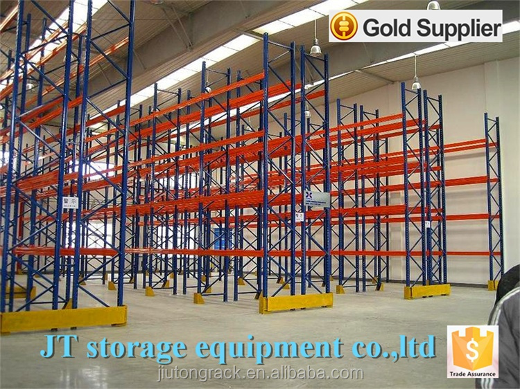 Heavy duty steel selective pallet racking foe warehouse made in China