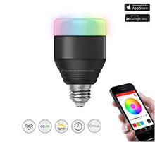 Smart Bluetooth E26 LED Light Bulbs APP Group Controlled Dimmable Color Changing Decorative Christmas Party Lighting